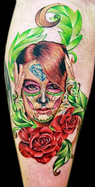 Cecil Porter interesting portrait tattoo