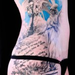 David Klvac realistic tattoo