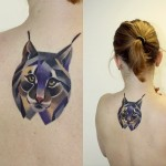lynx tattoo by sasha unisex