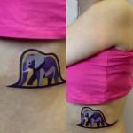 sasha unisex elephant tattoo
