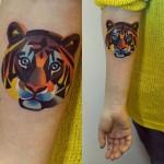 sasha unisex tigress tattoo design