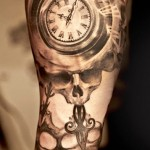Niki Norberg time tattoo