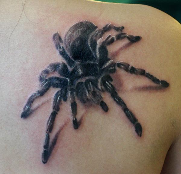 dark tarantula tattoo by rob kelly design of tattoosdesign of tattoos. Black Bedroom Furniture Sets. Home Design Ideas
