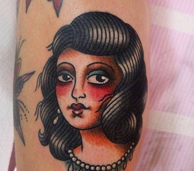 24 old school portrait tattoos by angelique houtkamp