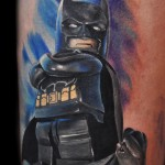 Max Pniewski Batman legolism tattoo