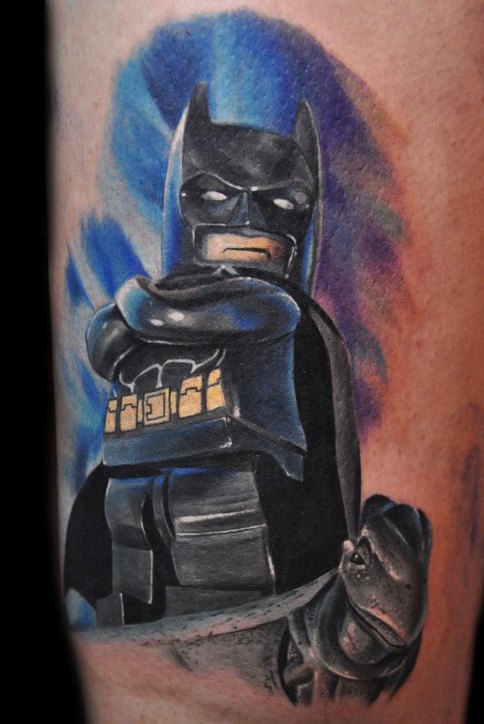 Batman tattoo by Max Pniewski - Design of TattoosDesign of Tattoos