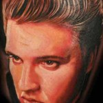 Mario Hartmann tattoo design by Elvis Presley