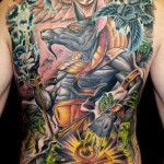 James Tex large scale tattoo design