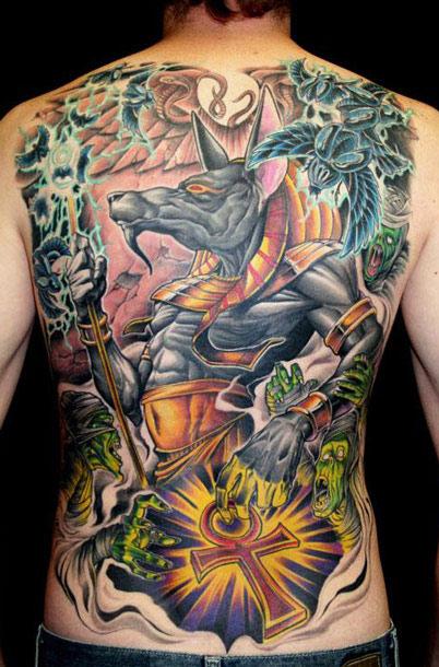 James Tex large scale tattoo design