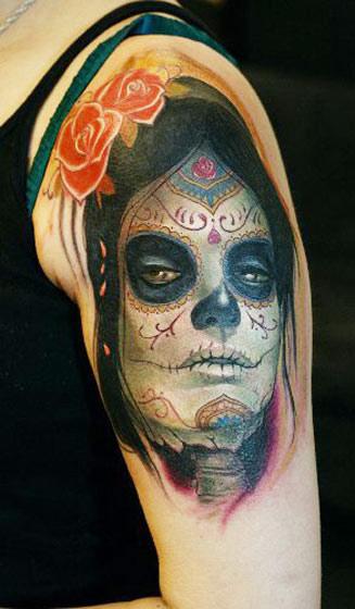 Darwin Enriquez amazing tattoo design on arm