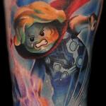 Max Pniewski character tattoo