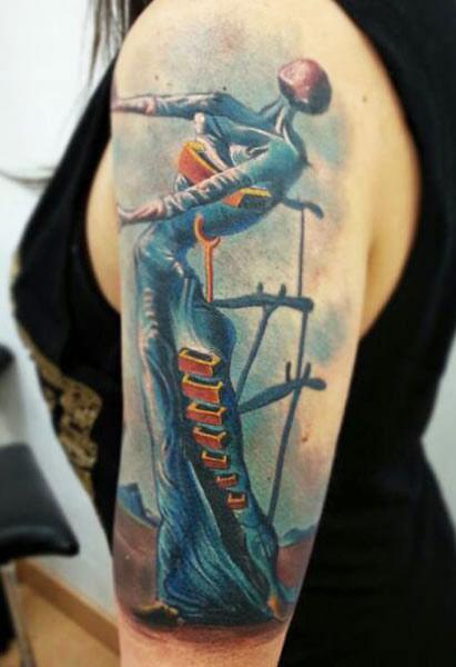 Darwin Enriquez creative tattoo design