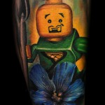 Max Pniewski cute legolism tattoo design
