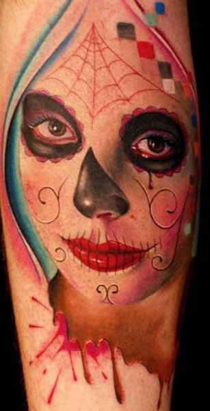 Mario Hartmann detailed portrait tattoo