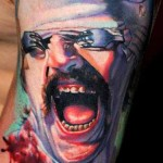 Janos Kovarik realistic tattoo