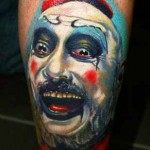 Janos Kovarik interesting portrait tattoo