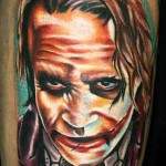 Janos Kovarik joker tattoo design