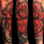 Max Pniewski magnificent rose tattoo