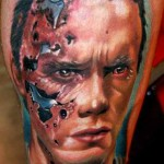 Janos Kovarik movie character tattoo design