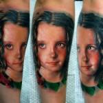 Darwin Enriquez realistic portrait tattoo