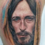 Darwin Enriquez awesome realistic portrait tattoo design
