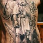 Sergio Sanchez realistic tattoo design