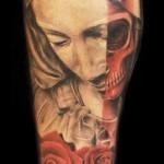Mario Hartmann religious portrait tattoo