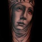 Scott Campbell religious tattoo design