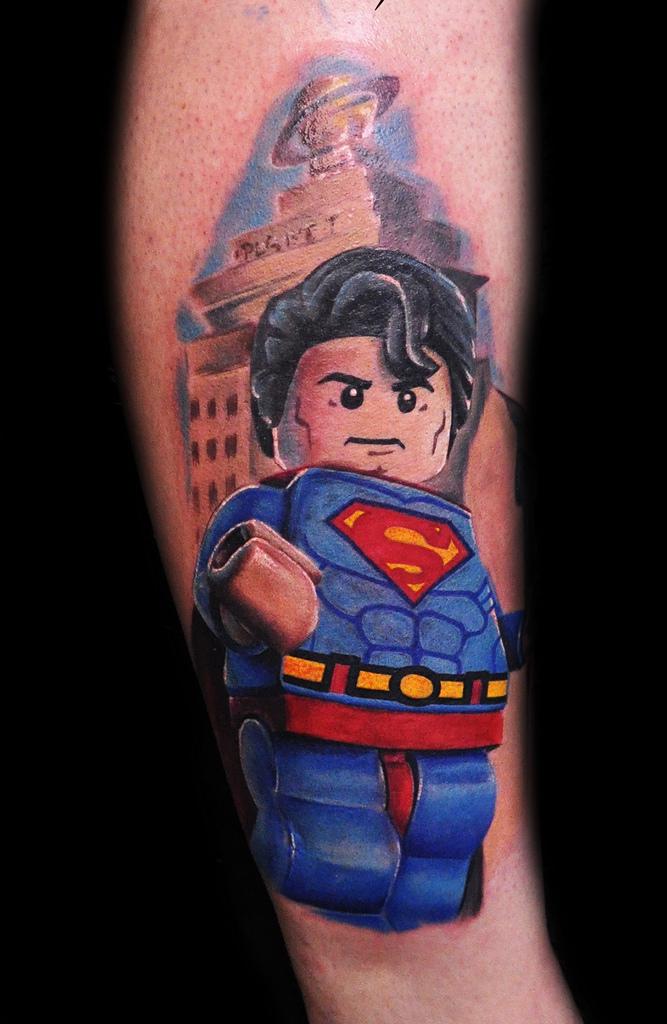 Superman Tattoo By Max Pniewski Design Of Tattoosdesign Of Tattoos