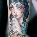 Darwin Enriquez cool portrait tattoo
