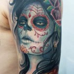 Darwin Enriquez detailed portrait tattoo