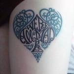 creative spade tattoo design