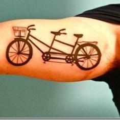 sleeve bicycle tattoo design