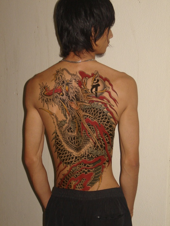 Full Back Yakuza Tattoo Design Design Of Tattoosdesign Of Tattoos