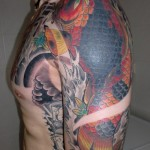 beautiful yakuza tattoo