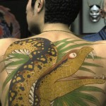 impressive back yakuza tattoo