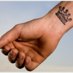wrist tattoo for men