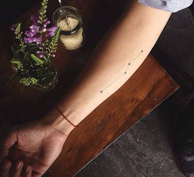 18 of the most wanted constellation tattoo designsdesign of tattoos. Black Bedroom Furniture Sets. Home Design Ideas