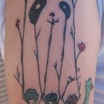 original panda bear tattoo