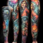 Lehel Nyeste color tattoo design