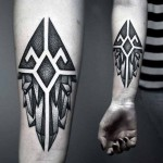Kamil Czapiga detailed black tattoo design