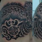 Sleeve tattoo design by Alvaro Flores