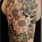 Alice Kendall flower tattoo design