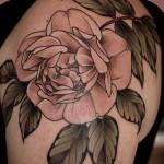 Alice Kendall vintage rose tattoo
