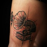 Sadhu le Serbe creative tattoo design