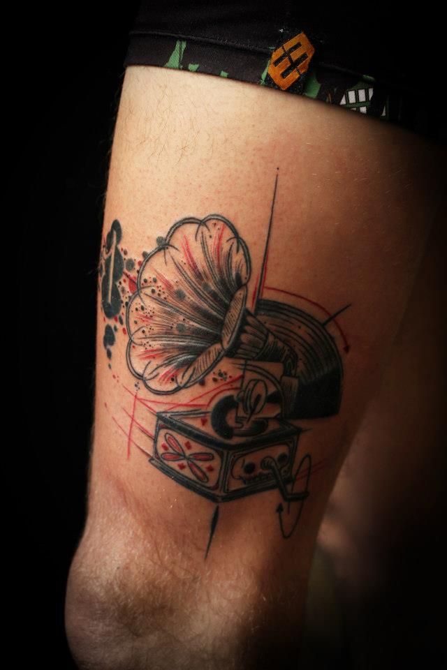 Sadhu le Serbe creative tattoo design