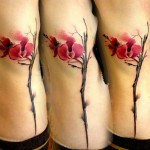 Lukasz Kaczmarek freesia tattoo design