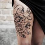 Diana Severinenko creative tattoo
