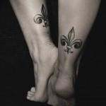 Diana Severinenko simple tattoo design