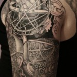 astrology_steampunk_tattoo
